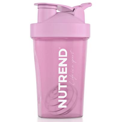 Шейкер Nutrend розовый, Жизнь - это спорт NUTREND