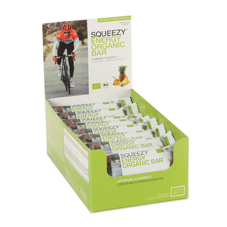 ENERGY ORGANIC BAR SQUEEZY