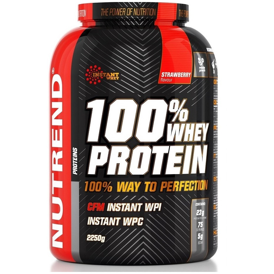 100% WHEY PROTEIN NUTREND