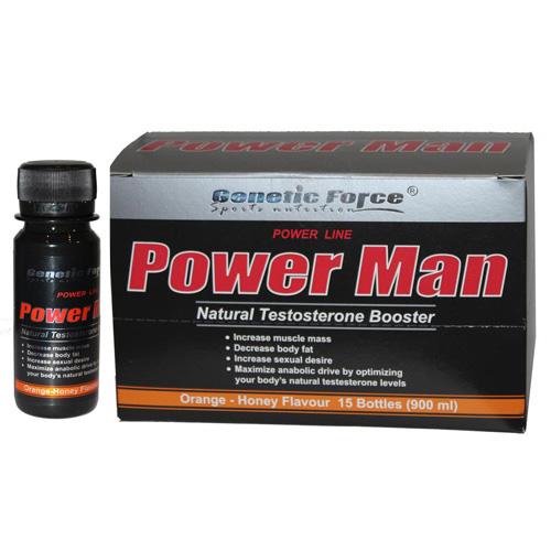 POWER MAN GENETIC FORCE