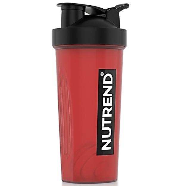 Шейкер Nutrend красный с черной крышкой NUTREND
