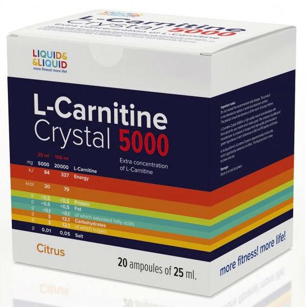 L-carnitine LiquidLiquid Crystal 5000 состав как принимать