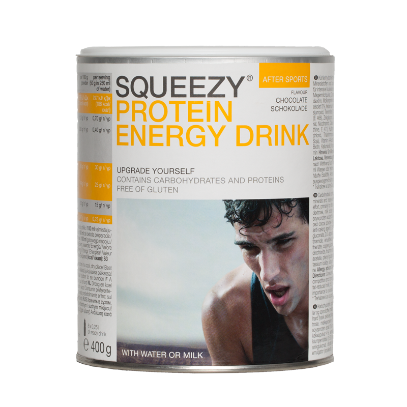 PROTEIN ENERGY DRINK SQUEEZY