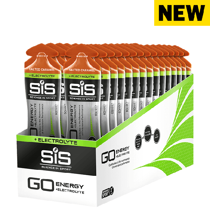 Go Isotonic Energy + Electrolyte Gels SCIENCE IN SPORT (SiS)