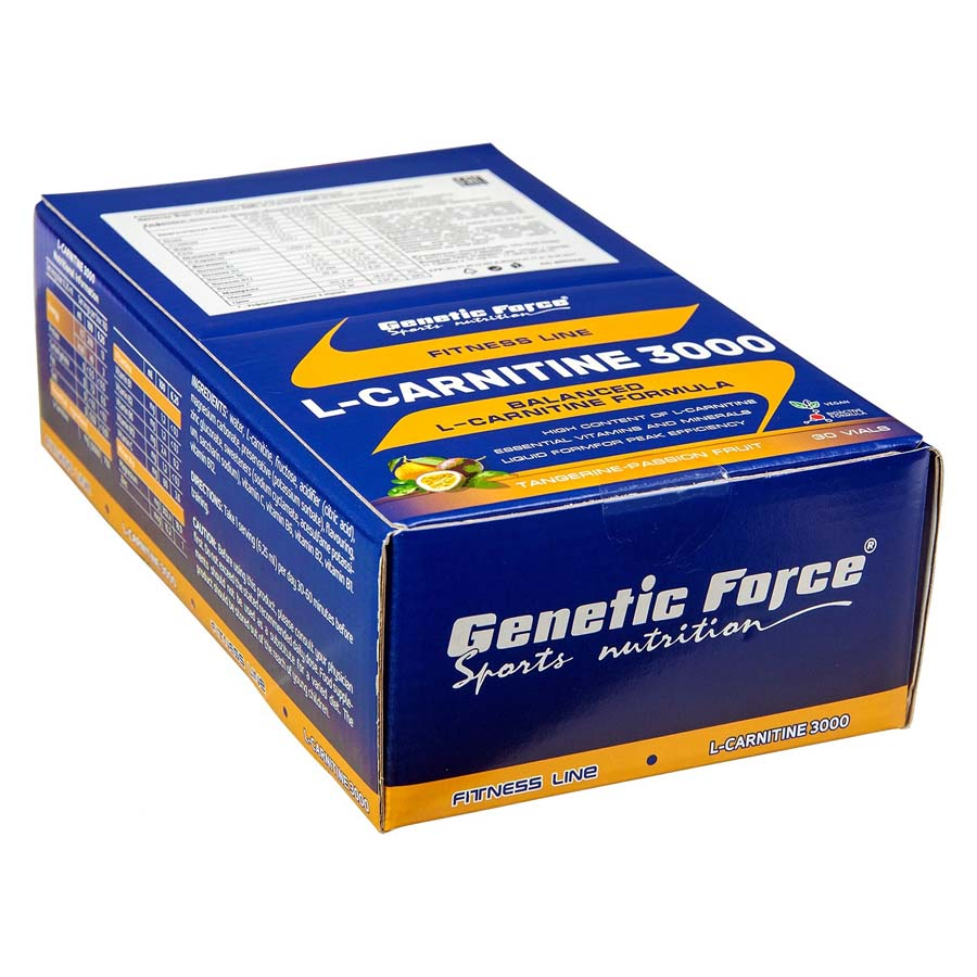 L-CARNITINE 3000 GENETIC FORCE