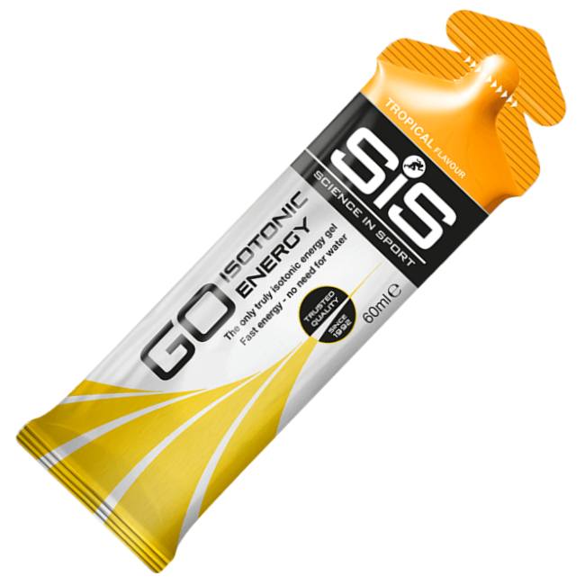 GO Isotonic Energy Gels SCIENCE IN SPORT (SiS)