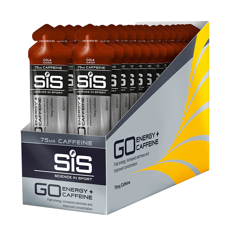 GO Isotonic Energy + Caffeine Gels SCIENCE IN SPORT (SiS)